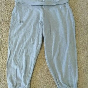 Under Armour Capri Joggers Charged Heat Gear